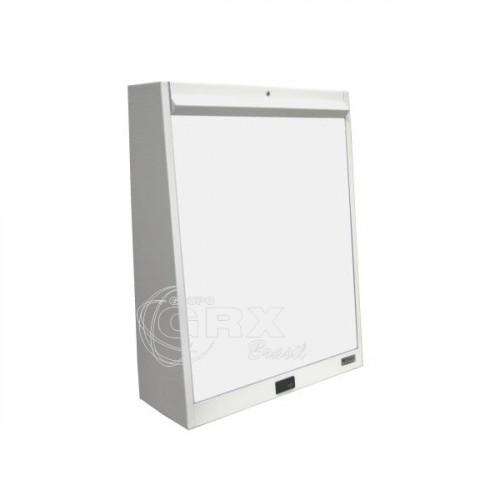 Negatoscópio Led Simples de Mesa Konex Branco 01 Corpo