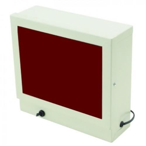 Lanterna Quadrada Câmara Escura Luz Vermelha 220V