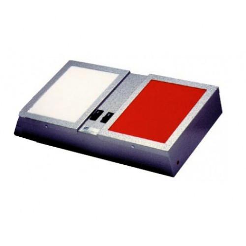 Lanterna Dupla Vermelha e Branca para Câmara Escura 220V