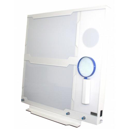 Negatoscópio Mamográfico Led Premium Konex 4 Filmes 20x25cm