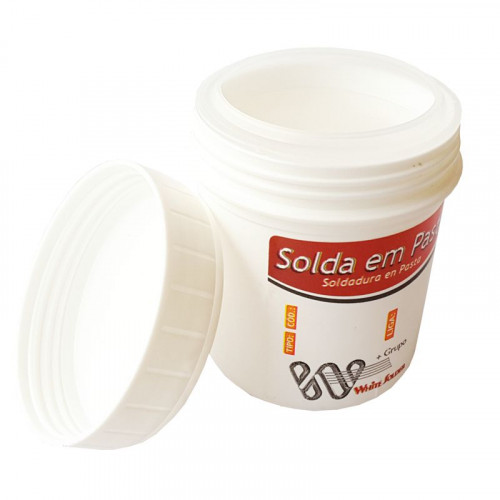 Pasta para Soldar 62% Estanho / 36% Chumbo / 2% Prata