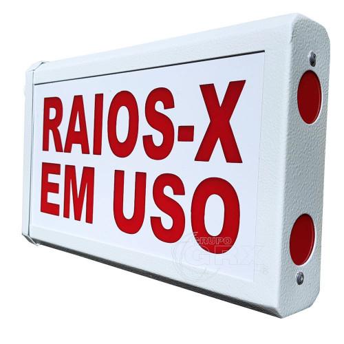 Sinaleiro Porta Raios X em Uso Luz Vermelha 220V