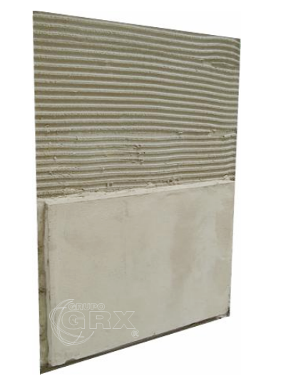 Argamassa baritada barita para aplicação em gesso acartonado sem gesso com cimento colca